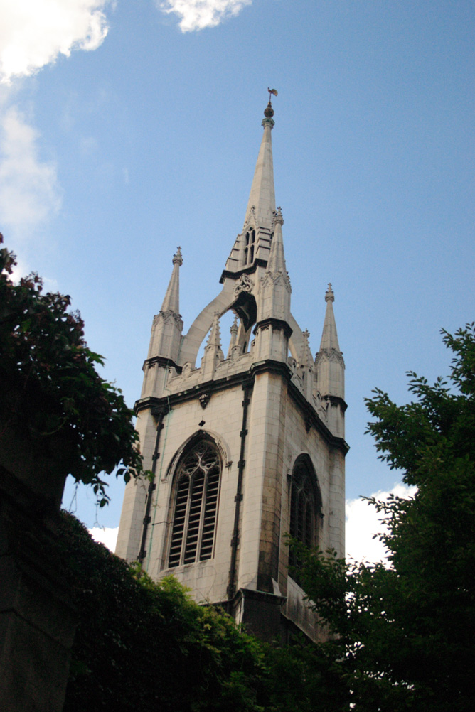St Dunstans in the East Church in the City of London